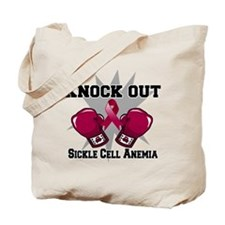 Knock Out Sickle Cell Anemia Tote Bag