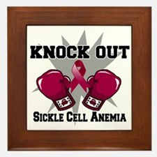 Knock Out Sickle Cell Anemia Framed Tile