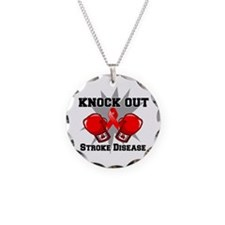 Knock Out Stroke Disease Necklace
