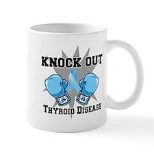 Knock Out Thyroid Disease Mug