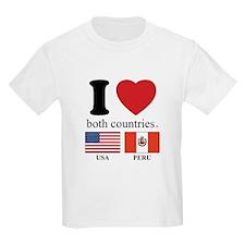 USA-PERU T-Shirt