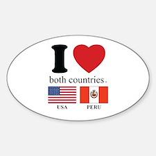 USA-PERU Decal