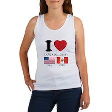 USA-PERU Women's Tank Top