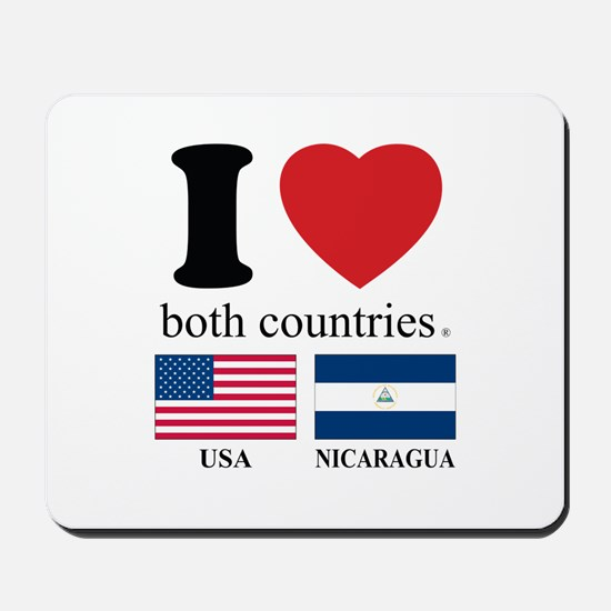 USA-NICARAGUA Mousepad