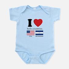USA-HOUNDURAS Infant Bodysuit