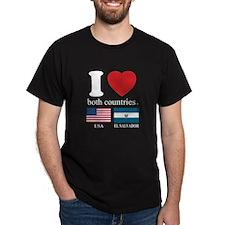 USA-EL SALVADOR T-Shirt