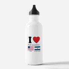 USA-EL SALVADOR Water Bottle