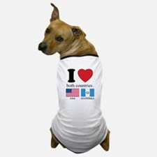 USA-GUATEMALA Dog T-Shirt