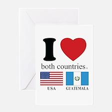 USA-GUATEMALA Greeting Card
