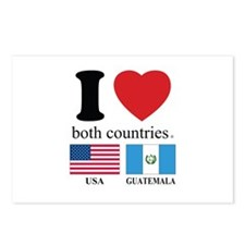 USA-GUATEMALA Postcards (Package of 8)