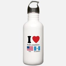 USA-GUATEMALA Water Bottle
