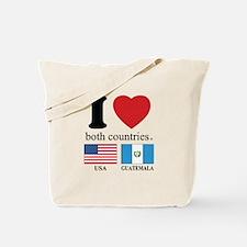 USA-GUATEMALA Tote Bag