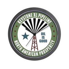 Keystone XL Pipeline Wall Clock