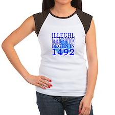 1492 Women's Cap Sleeve T-Shirt