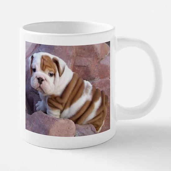 Bulldog coffee mugs and stein Large Mugs