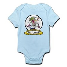 WORLDS GREATEST CRAZY CHEMIST CARTOON Infant Bodys