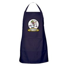 WORLDS GREATEST CRAZY CHEMIST CARTOON Apron (dark)