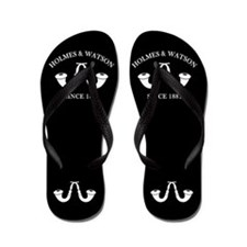 Holmes & Watson Since 1881 Flip Flops