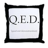 Mathematics pillow Throw Pillows