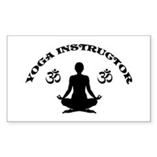 Yoga Instructor Decal