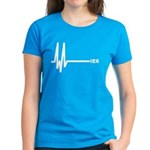 IE6 Flatline Women's Dark T-Shirt