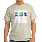 Light T-Shirt, Eat, Sleep, Fly Rockets