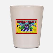California Beer Label 11 Shot Glass