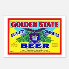 California Beer Label 11 Postcards (Package of 8)