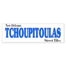 Tchoupitoulas Bumper Bumper Sticker