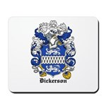Dickerson Coat of Arms Mousepad