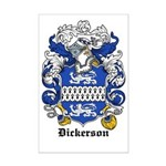 Dickerson Coat of Arms Mini Poster Print