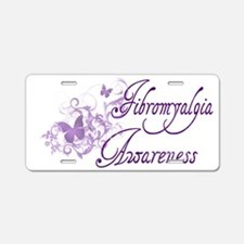 Fibromyalgia Awareness Aluminum License Plate