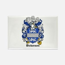Dickerson Coat of Arms Rectangle Magnet