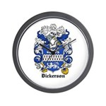 Dickerson Coat of Arms Wall Clock