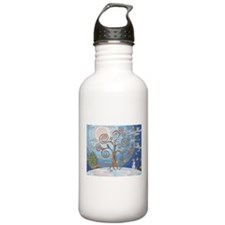 A Cold Winters Night Water Bottle