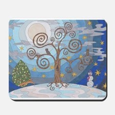 A Cold Winters Night Mousepad