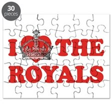 I Love The Royals Puzzle