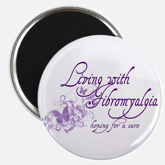 Living with Fibromyalgia Magnet