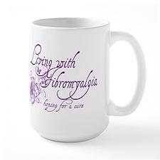 Living with Fibromyalgia Mug