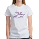 Fibromyalgia butterfly Women's T-Shirt