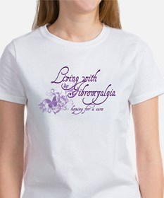 Living with Fibromyalgia Women's T-Shirt