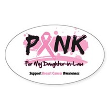 Breast Cancer Daughter-in-Law Decal