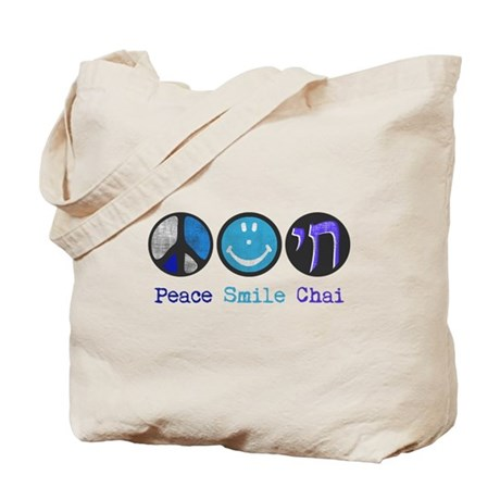Peace Smile Chai Tote Bag