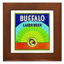 California Beer Label 10 Framed Tile