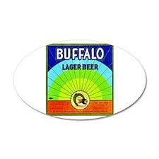 California Beer Label 10 38.5 x 24.5 Oval Wall Pee