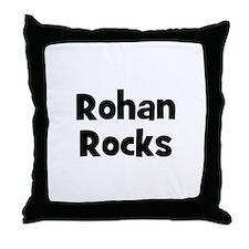 Rohan Rocks Throw Pillow