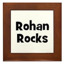 Rohan Rocks Framed Tile