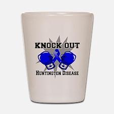 Knock Huntington Disease Shot Glass