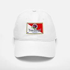 California Beer Label 9 Baseball Baseball Cap