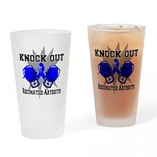 Knock Rheumatoid Arthritis Drinking Glass